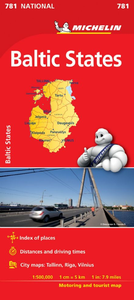 Michelin 781 - Baltic States